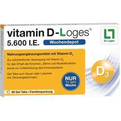 VITAMIN D LOGES 5.600 I.E.
